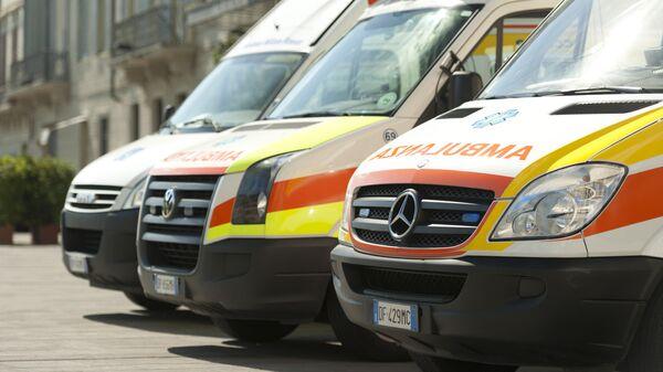 Автомобили скорой помощи во Флоренции, Италия