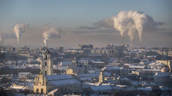 Зима в Вильнюсе, Литва