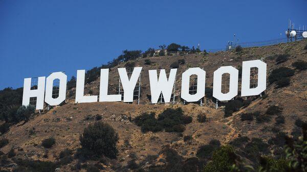 Знак Голливуда на Голливудских холмах в Лос-Анджелесе