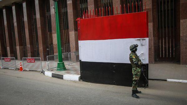 Египетский военнослужащий
