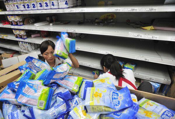 Китай начал общенациональную кампанию по проверке производителей молокопродуктов