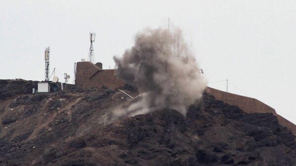 Бои в йеменском городе Аден, вспыхнувшие между сепаратистами и правительственными силами. Архивное фото