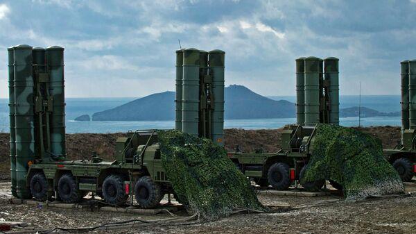 Полк С-400 на боевом дежурстве в Крыму. Архивное фото.