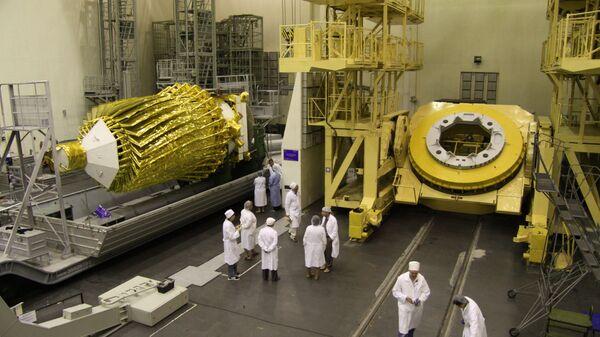 Ученые-специалисты проводят работы с российской астрофизической обсерваторией Спектр-Р