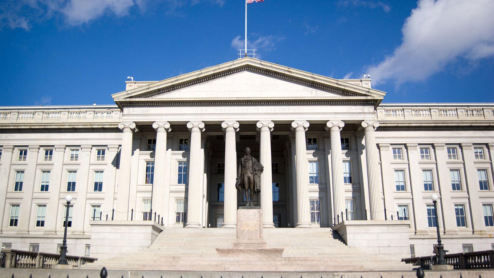 Здание Министерства финансов США в Вашингтоне - РИА Новости, 1920, 18.11.2020