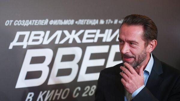 Актер Владимир Машков на премьере фильма Движение вверх