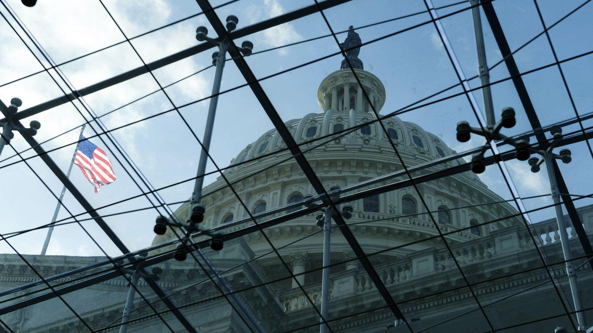 Здание конгресса США на Капитолийском холме в Вашингтоне - РИА Новости, 1920, 23.10.2020