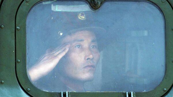 Военнослужащий КНДР . Архивное фото