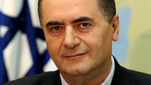 Израильский министр разведки Исраэль Кац. Архивное фото