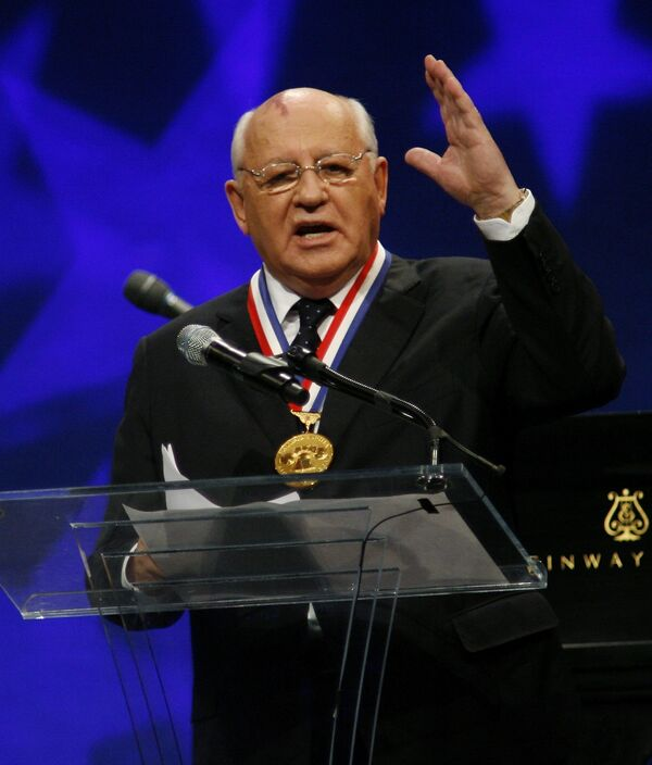 Михаил Горбачев. Архив