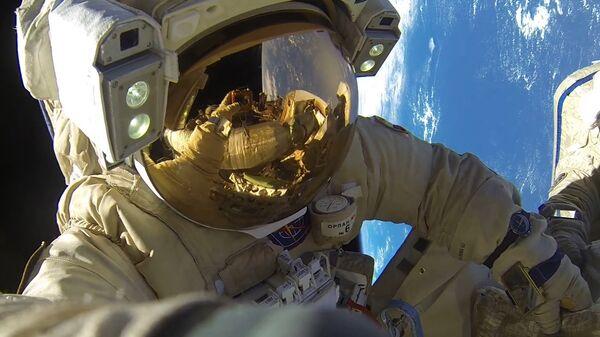 Космонавт. Архивное фото