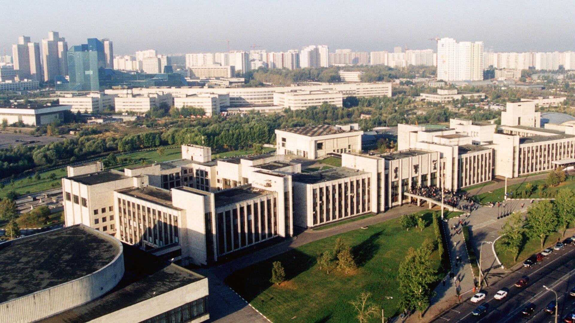 Здание МГИМО в Москве - РИА Новости, 1920, 20.09.2021