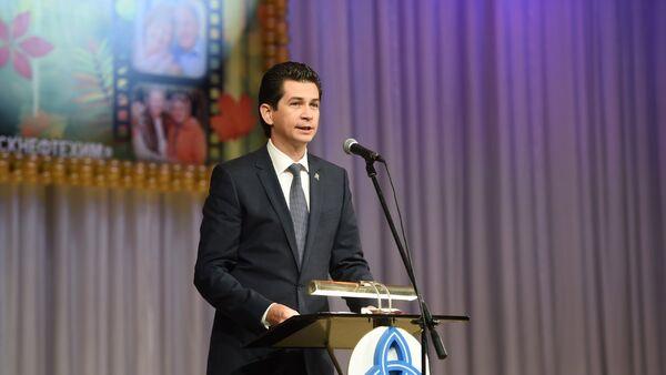 Министр экологии и природных ресурсов Республики Татарстан Фарид Абдулганиев