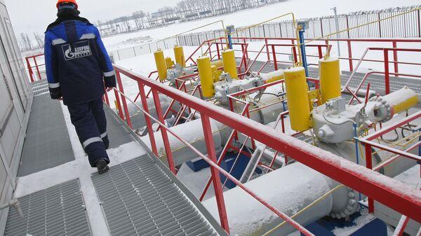 Транзит газа через ГИС Суджа