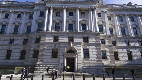 Министерство финансов Великобритании в Лондоне