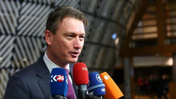 Министр иностранных дел Нидерландов Халбе Зейлстра. Архивное фото