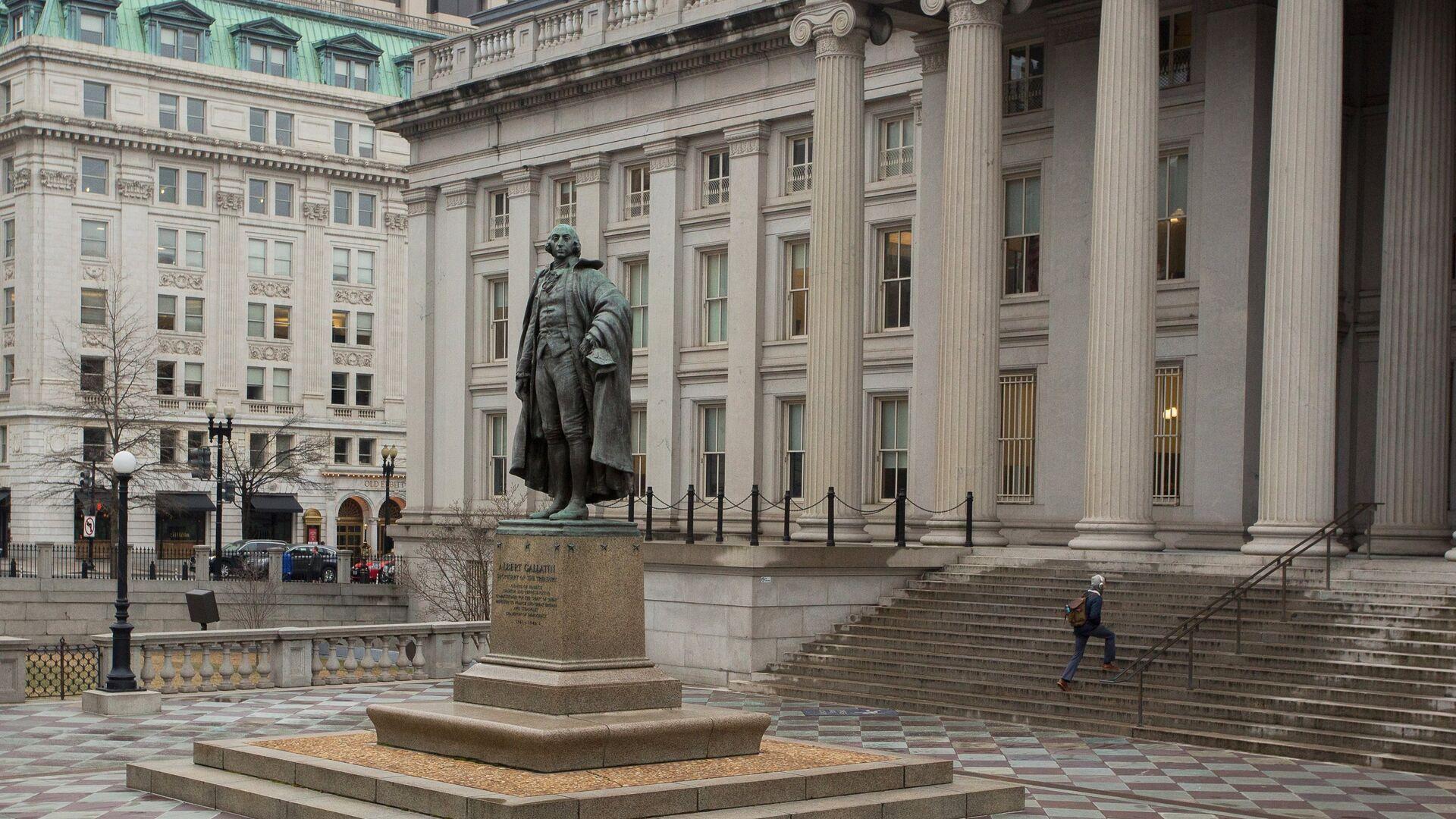 Министерство финансов США в Вашингтоне - РИА Новости, 1920, 31.07.2020