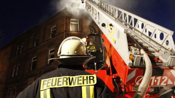 Пожарный в Германии