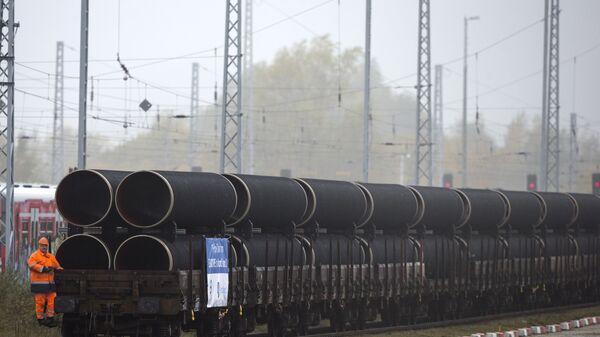 Трубы для строительства газопровода Северный поток - 2