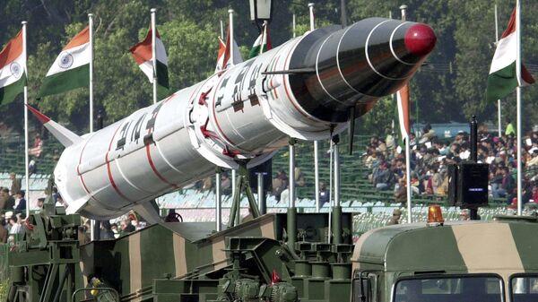 Индийская баллистическая ракета Агни