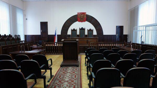 Зале судебных заседаний
