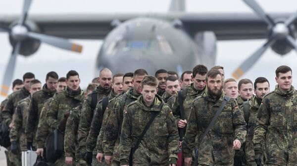 Немецкие солдаты бундесвера
