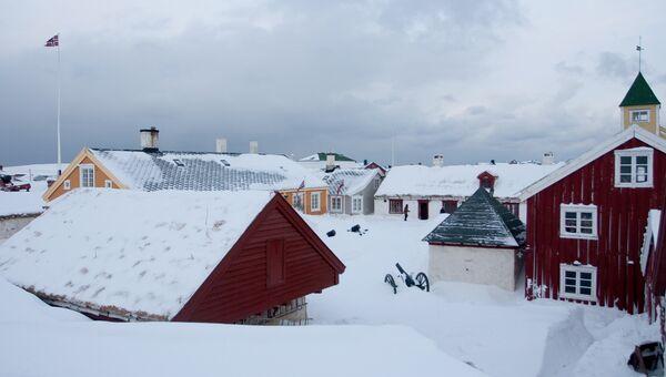 Город Вардё в Финнмарке, Норвегия