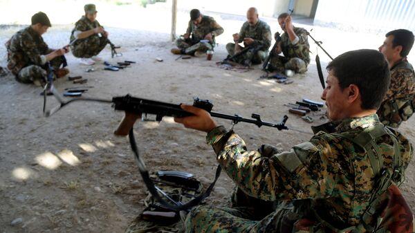Бойцы отряда народной самообороны курдов (YPG)