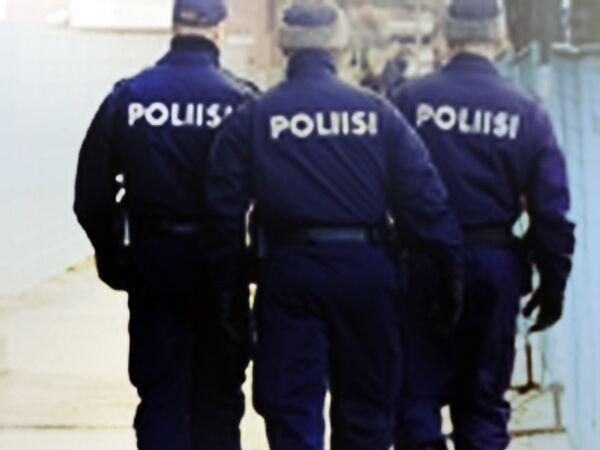 Финские полицейские