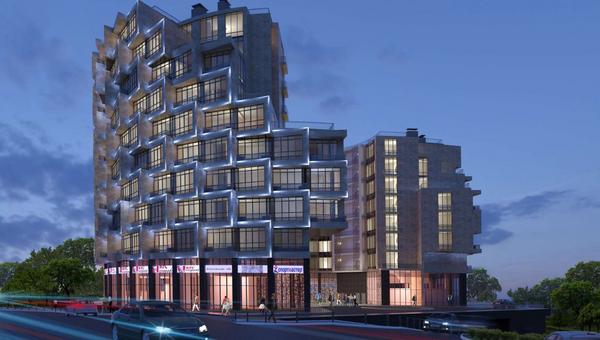 Проект гостинично-делового комплекса в Кунцево
