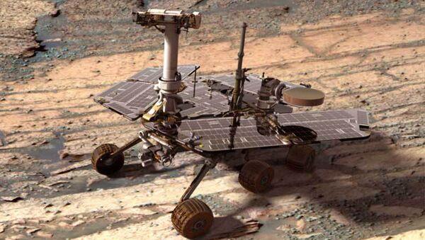 Робот-Марсоход Opportunity