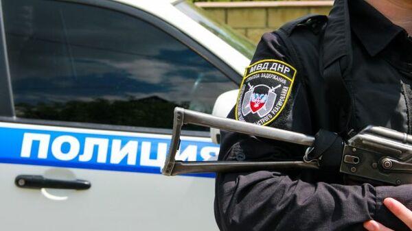 Сотрудник правоохранительных органов ДНР. Архивное фото