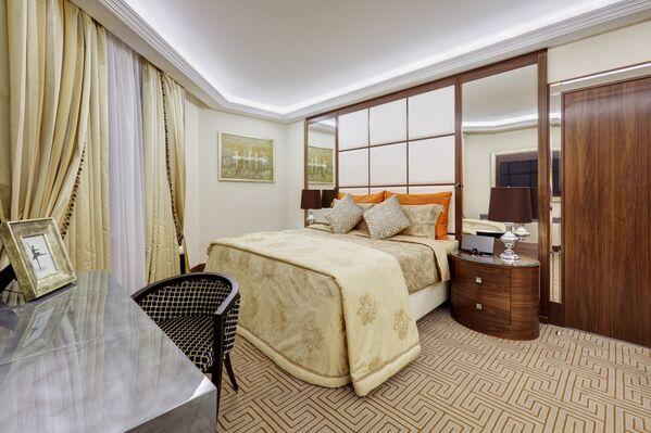 Люкс «Чайковский» в отеле Marriott Ройал Аврора в Москве