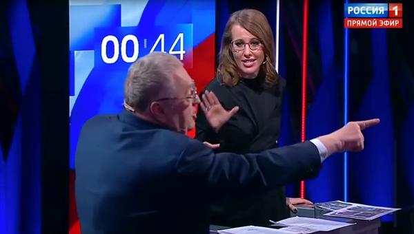 Дебаты на канале Россия 1