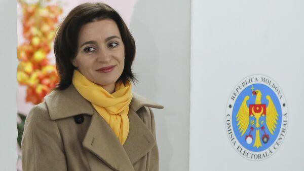 Кандидат в президенты Молдавии Майя Санду