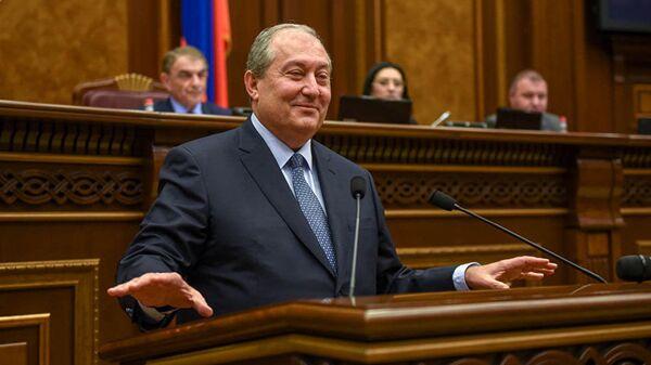 Армянский политический и государственный деятель, дипломат Армен Саркисян
