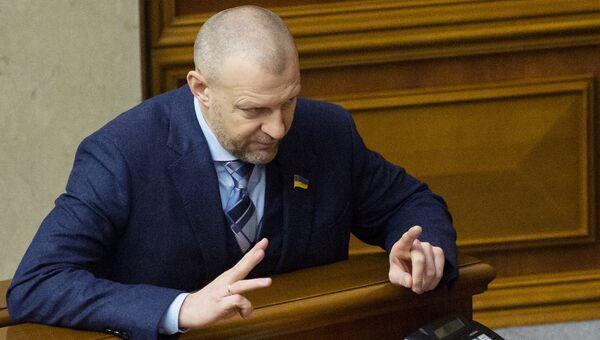 Депутат Верховной рады Андрей Тетерук