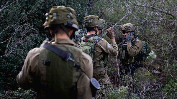 Солдаты армии Израиля. Архивное фото