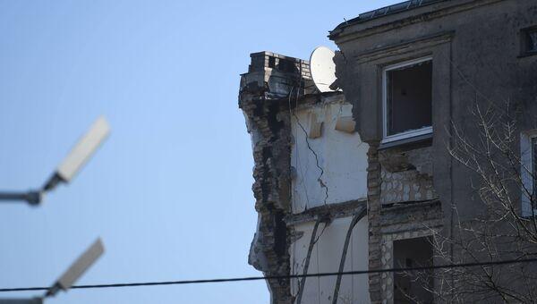 Обрушение жилого дома