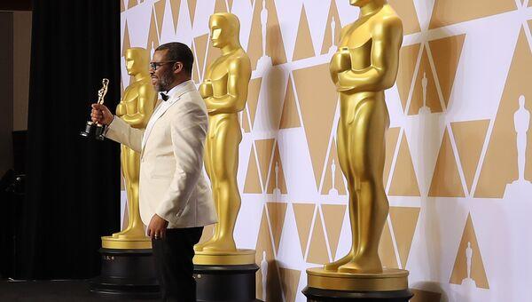 Джордан Пил на церемонии вручения премии Оскар
