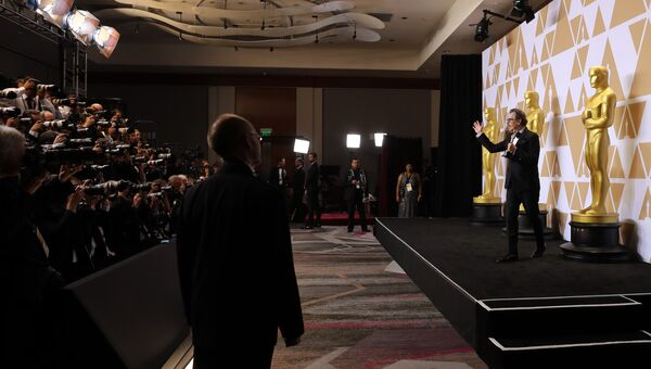 Гэри Олдман на церемонии вручения премии Оскар