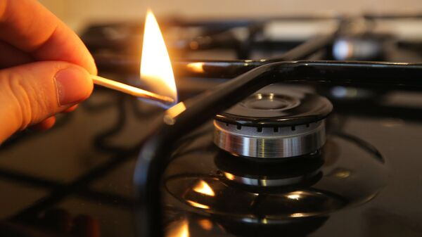 Зажжение газовой конфорки