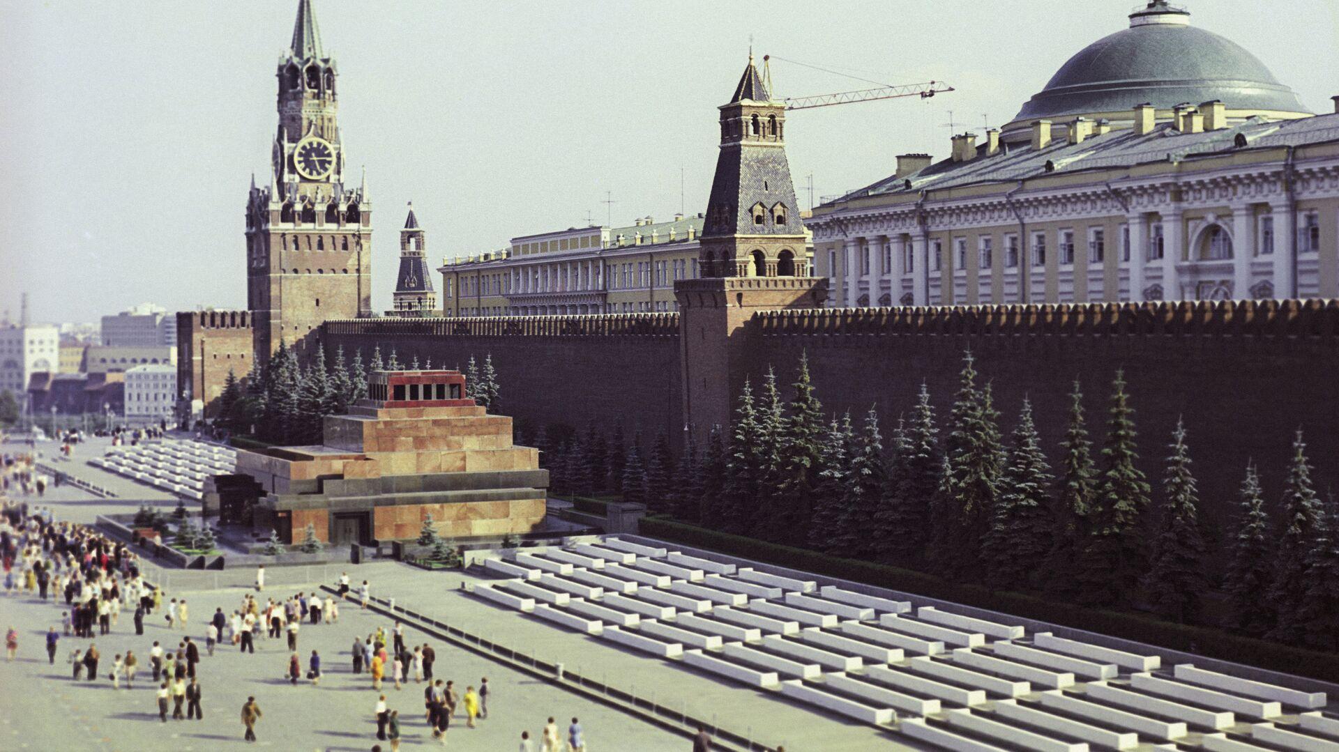 Вид на Красную площадь - РИА Новости, 1920, 15.09.2020