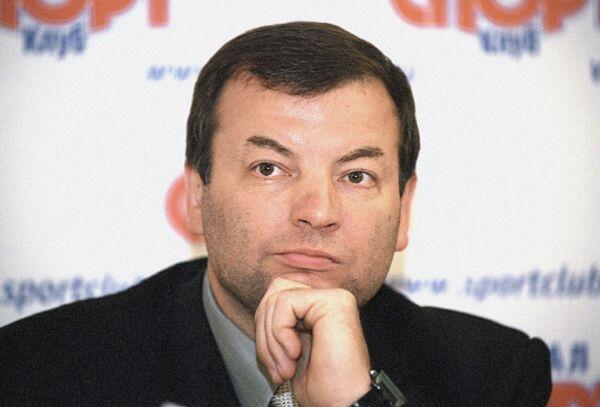 Глава спортивного общества ЦСКА Сергей Кущенко