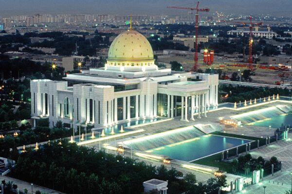 Дворец президента республики Туркмения. Архивное фото
