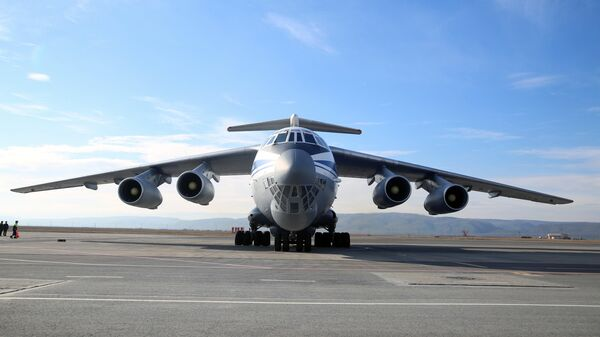 Самолет ИЛ-76 МД