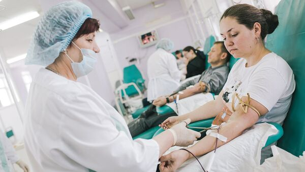 Инфографика о донорстве и компонентах крови опубликована в открытом доступе