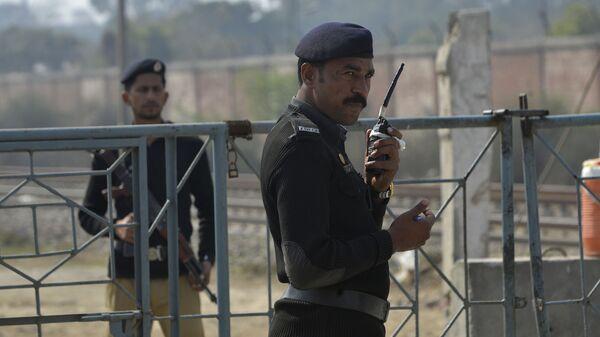 Пакистанские полицейские. Архивное фото