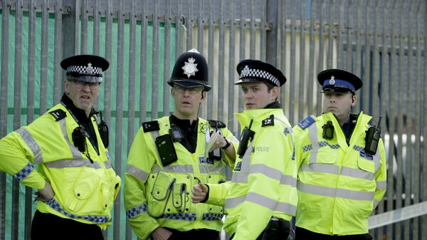 Сотрудники британской полиции