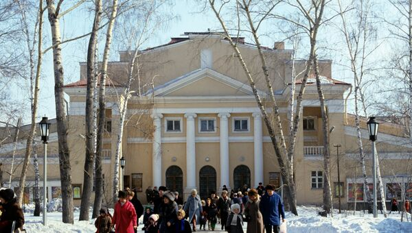 Новосибирский театр музыкальной комедии. Архивное фото